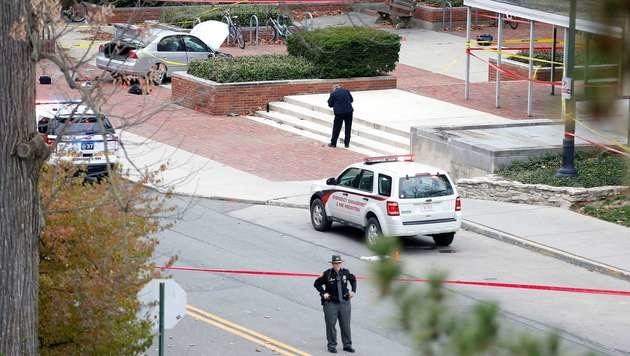 Ohio: Terrorangriff an Uni wie Amokfahrt von Graz! (Bild: APA/AFP/GETTY IMAGES/Kirk Irwin)