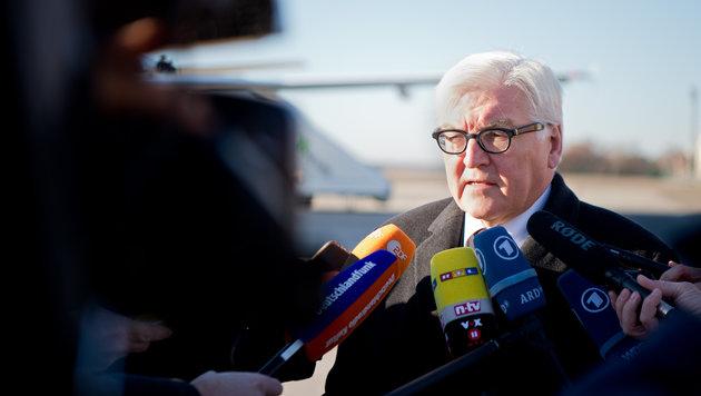 Der deutsche Außenminister Frank-Walter Steinmeier (Bild: AP)