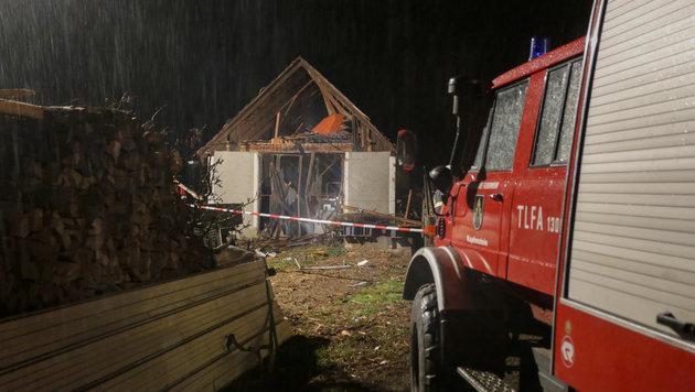 Graz: Angeklagter entging Brandanschlag nur knapp (Bild: APA/ERWIN SCHERIAU)