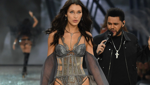 Bella Hadid und The Weeknd (Bild: Viennareport)