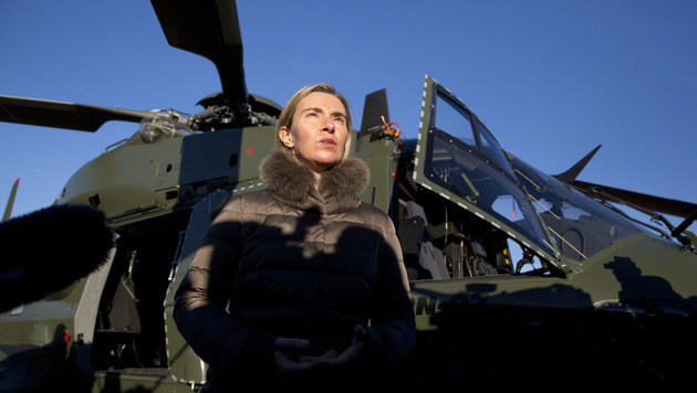 Die EU-Außenbeauftragte Federica Mogherini (Bild: AP)