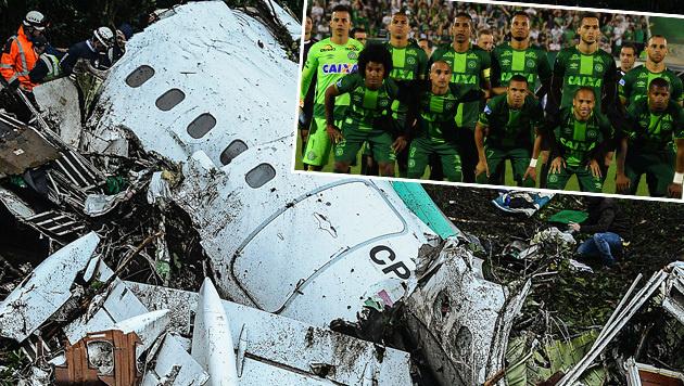 Droht Chapecoense nach Flugzeugabsturz Geldstrafe? (Bild: APA/AFP/NELSON ALMEIDA, AP)