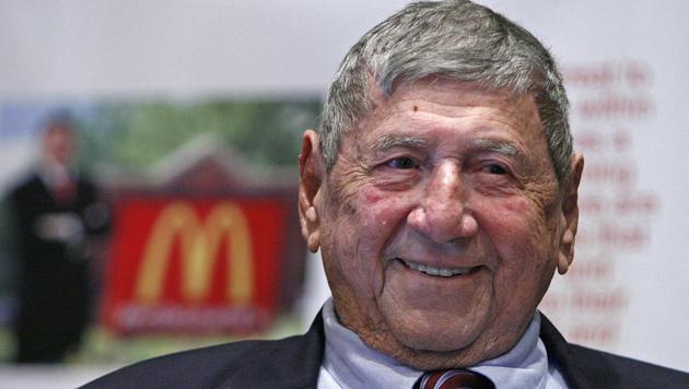 """Michael """"Jim"""" Delligatti, der Erfinder des Big Mac (Bild: AP)"""