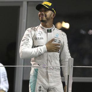 Hamilton bester Fahrer - Rosberg nur Dritter (Bild: AP)