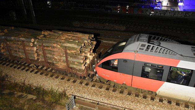 Im November 2016 krachten fünf führerlose Waggons in Wien-Penzing gegen eine S-Bahn-Garnitur. (Bild: APA/MA 68 LICHTBILDSTELLE)