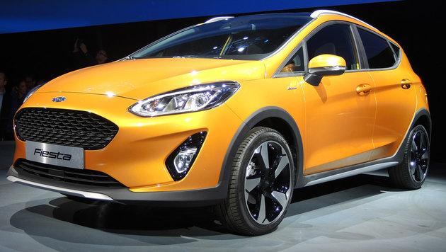 Weltpremiere: Der neue Ford Fiesta kommt zu viert (Bild: Stephan Schätzl)