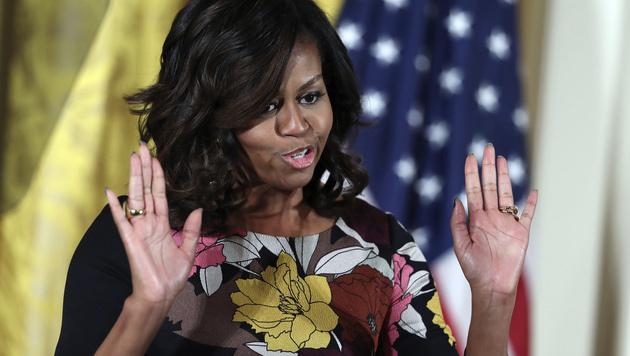 Michelle Obama (Bild: AP)