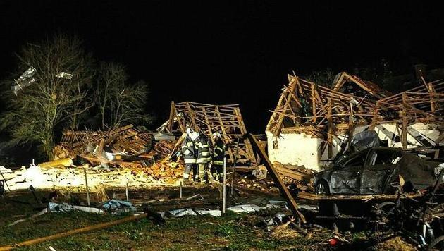 Graz: Angeklagter entging Brandanschlag nur knapp (Bild: APA/LFV/THOMAS MEIER)