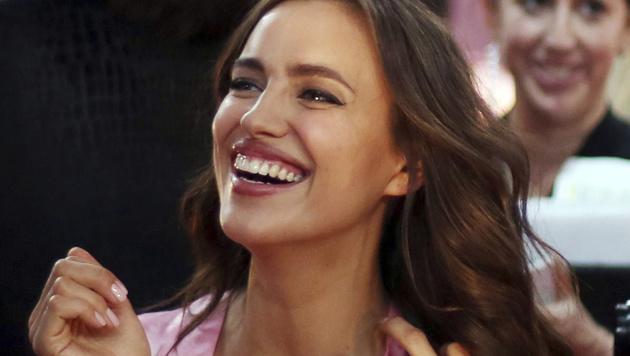 Irina Shayk ist heuer auch wieder bei den Engeln dabei. (Bild: AP)