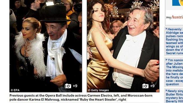 """""""Mörtel in britischer Presse - als  """"Mr. Beton""""! (Bild: Screenshot Daily Mail)"""""""