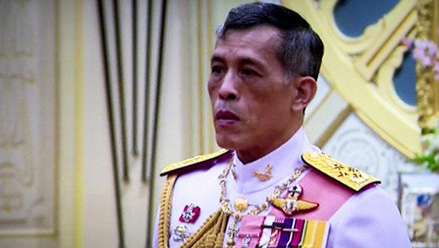 Thailands neuer König Rama X. (Bild: AP)