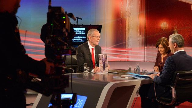 """""""Kommunisten-Spion"""" gegen """"Zündler"""" live im ORF (Bild: APA/ORF/Thomas Ramstorfer)"""