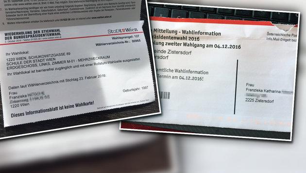 """Hofburg-Wahl: Erneut Ärger über Wahlkarten-Pannen (Bild: """"Krone"""")"""