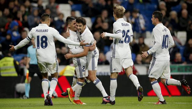 Real Madrid darf im Sommer wieder einkaufen (Bild: AP)