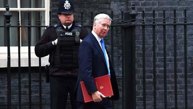 Brexit-Minister David Davis (Bild: APA/AFP/BEN STANSALL)