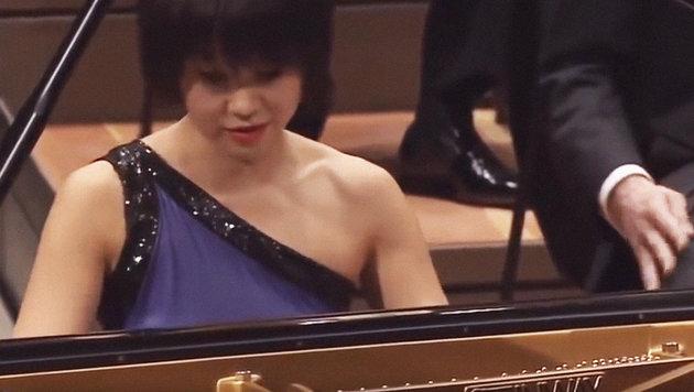 Yuja Wang bei der Arbeit (Bild: YouTube.com)