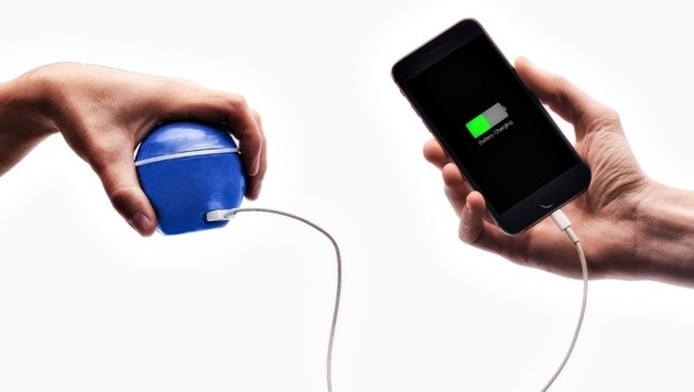 """HandEnergy"": Handy laden per Handumdrehen (Bild: Kickstarter)"