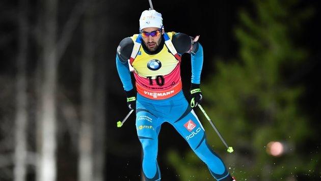 Martin Fourcade gewinnt 20-km-Rennen in Östersund (Bild: APA/AFP/TT News Agency/ANDERS WIKLUND)
