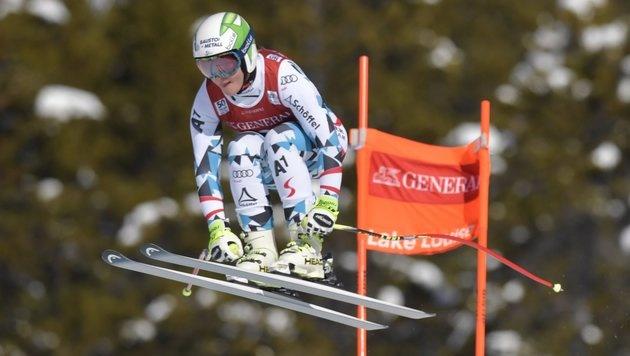 Ramona Siebenhofer Schnellste im letzten Training (Bild: AP)