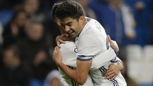 Real-Youngster Zidane trifft - Barca blamiert sich (Bild: AP)
