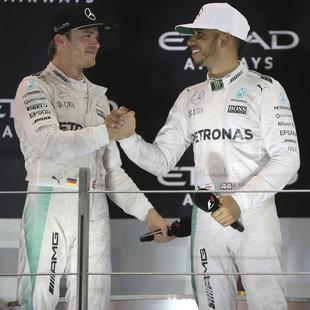 "Rosberg: ""Wusste nicht, ob Hamilton durchdreht"" (Bild: AP)"
