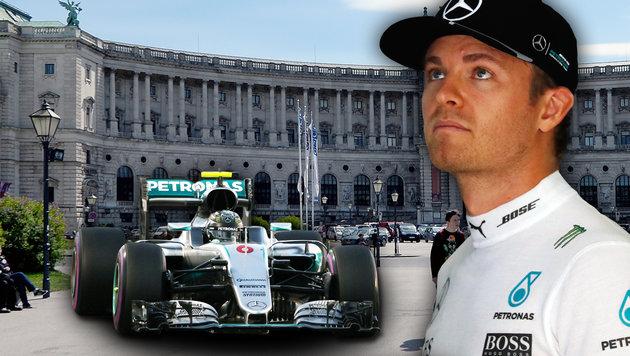 F1-Weltmeister Rosberg: So läuft sein Tag in Wien! (Bild: AP, GEPA, APA/ROLAND SCHLAGER)