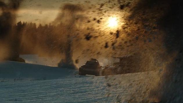 """""""28 Panfilow-Soldaten"""" erzählt die Sowjet-Kriegslegende mit modernster Filmtechnik nach. (Bild: YouTube.com)"""