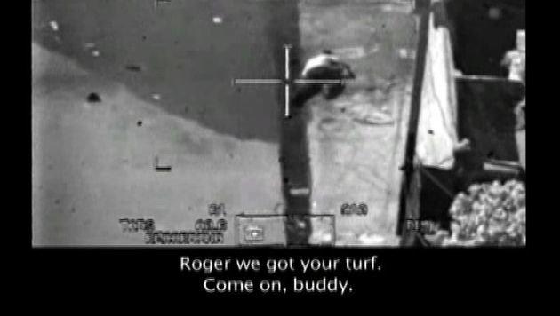 """Ausschnitt auf dem """"Collateral Murder""""-Video (Bild: AFP/picturedesk.com)"""