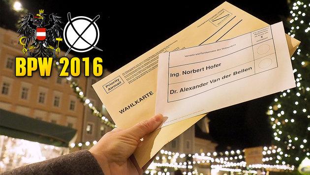 20% weniger Briefwähler als bei Stichwahl im Mai (Bild: APA/BARBARA GINDL)