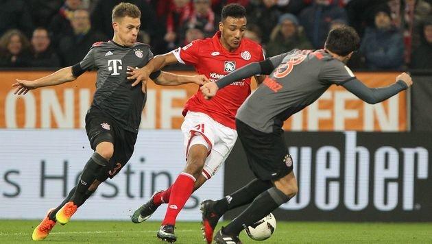 Spiel gedreht! Bayern siegt in Mainz 3:1 (Bild: APA/AFP/DANIEL ROLAND)
