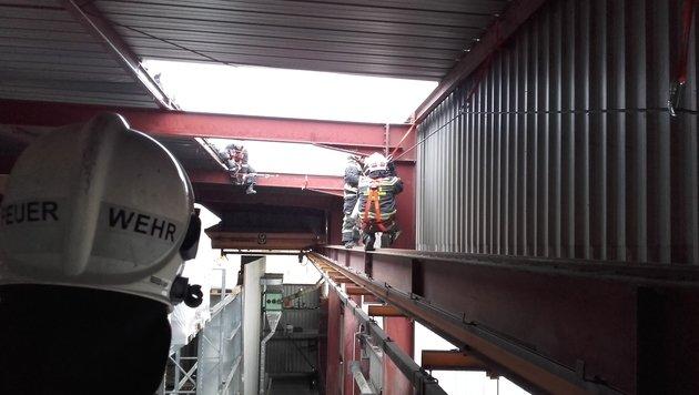 Böen bis zu 140 km/h - Feuerwehr im Dauereinsatz (Bild: MA 68 Lichtbildstelle)