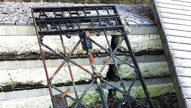 Das Tor wurde in der norwegischen Stadt Bergen entdeckt. (Bild: APA/AFP/Bayrische Polizei)