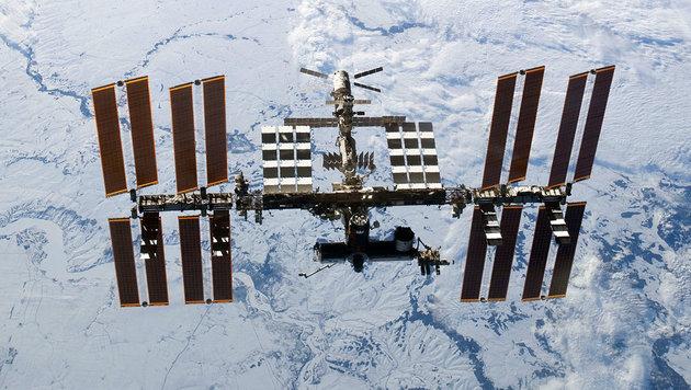 Die internationale Raumstation ISS (Bild: NASA)