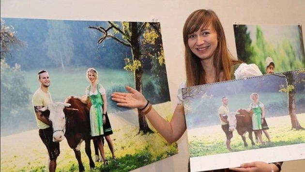 """Eva Frischling (Straßwalchen) schaffte es mit ihrem Foto in die """"Österreich Werbung"""". (Bild: Franz Neumayr)"""