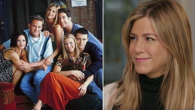 """Jennifer Aniston hat noch einige Geheimnisse zu """"Friends"""" auf Lager. (Bild: facebook.com/friends.tv, YouTube.com """"Lorraine"""")"""