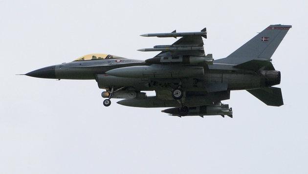 Eine F-16 der dänischen Luftwaffe (Bild: MARIO LAPORTA/AFP/picturedesk.com)