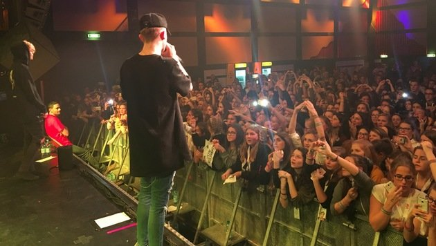 """Lukas Rieger mit Bars & Melody in Wien (Bild: Bars & Melody)"""