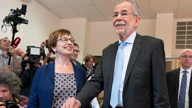 BP-Wahl: Welcher Stil zieht in die Hofburg ein? (Bild: APA/AFP/JOE KLAMAR)