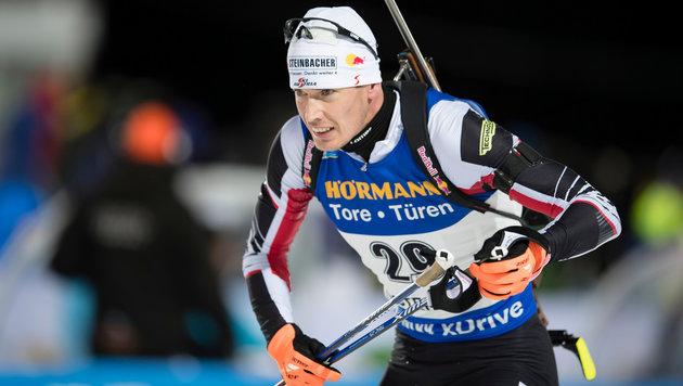 Biathlon: Eberhard mit Laufbestzeit Fünfter (Bild: GEPA)