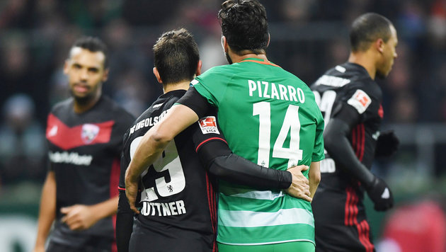 Bremen besiegt Ingolstadt trotz Suttner-Traumtor (Bild: GEPA)