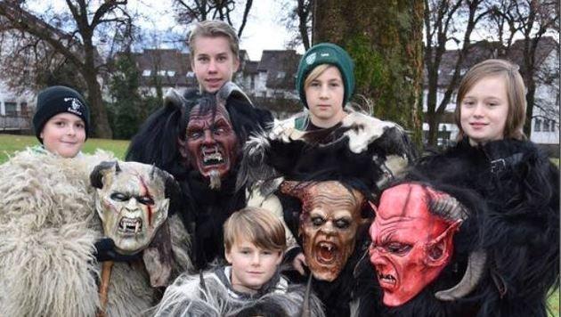 Maxglaner Nachwuchs: Fabian, Simon, Daniel, Luka und Vanessa (Bild: Wolfgang Weber)