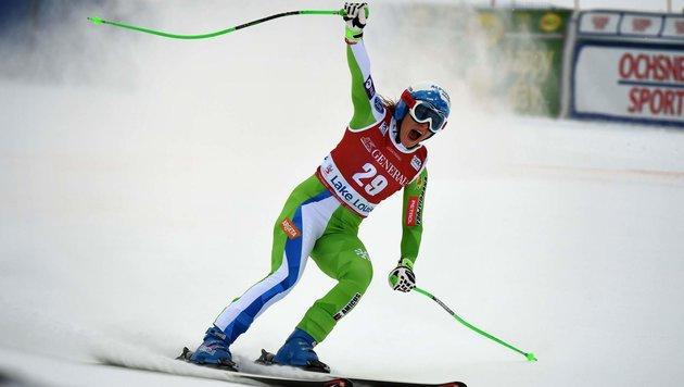 Nächster Sieg für Slowenin Stuhec in Lake Louise (Bild: AFP or licensors)