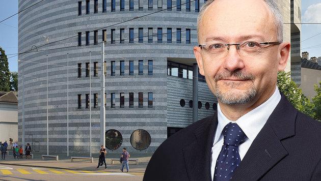 Notenbank-Experte warnt vor totalem Finanzkollaps (Bild: BIZ, Wikipedia/ Taxiarchos228))