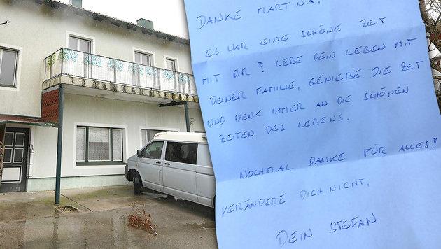 Ominöser Brief an Martina R. aufgetaucht (Bild: APA/HELMUT FOHRINGER, Christoph Matzl)