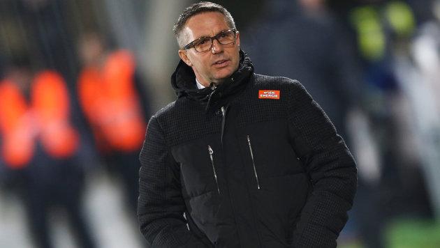 "Rapid-Coach Canadi: ""Geht ja nicht um unser Leben"" (Bild: GEPA)"