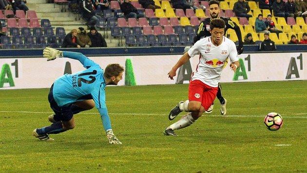 Salzburg schießt Altach mit 4:1 aus den Schuhen! (Bild: APA/KRUGFOTO)