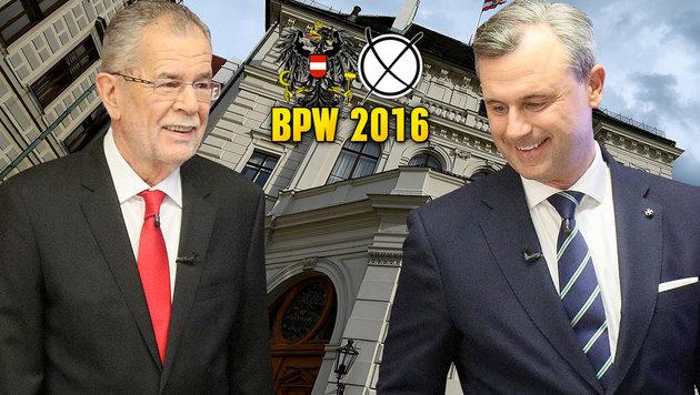 VdB oder Hofer? Die 7 Folgen der Hofburg-Wahl (Bild: AP, APA/HELMUT FOHRINGER)