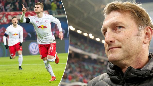 Völlig irre! RB Leipzig mit achtem Sieg in Serie (Bild: APA/dpa-Zentralbild/Jan Woitas)