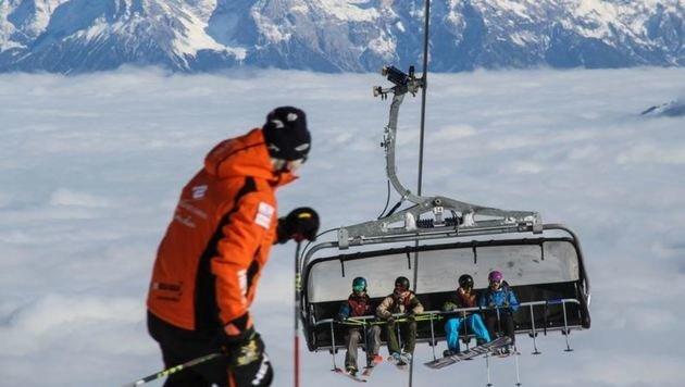 Skifahren ist Volkssport Nummer Eins in Salzburg. Vor Weihnachten gehört es zu den schönsten Dingen. (Bild: Melanie Hutter)