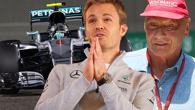 "Lauda sauer: ""Rosberg hätte uns warnen müssen!"" (Bild: GEPA)"